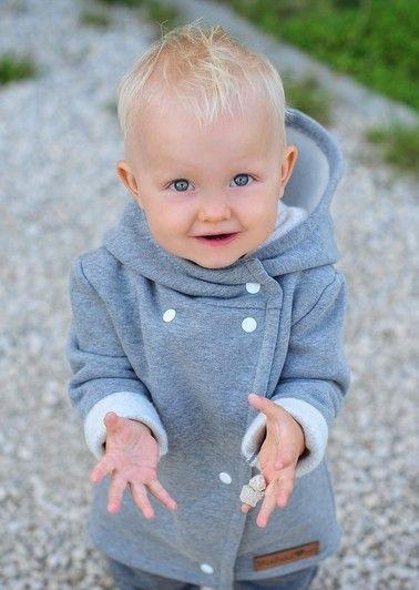 Niezwykle ciepły i szalenie miły w dotyku płaszczyk dla #dzieci, wykonany z grubej  bawełny, Bubalove