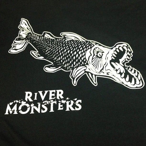 River Monster TV show, one colour t shirt