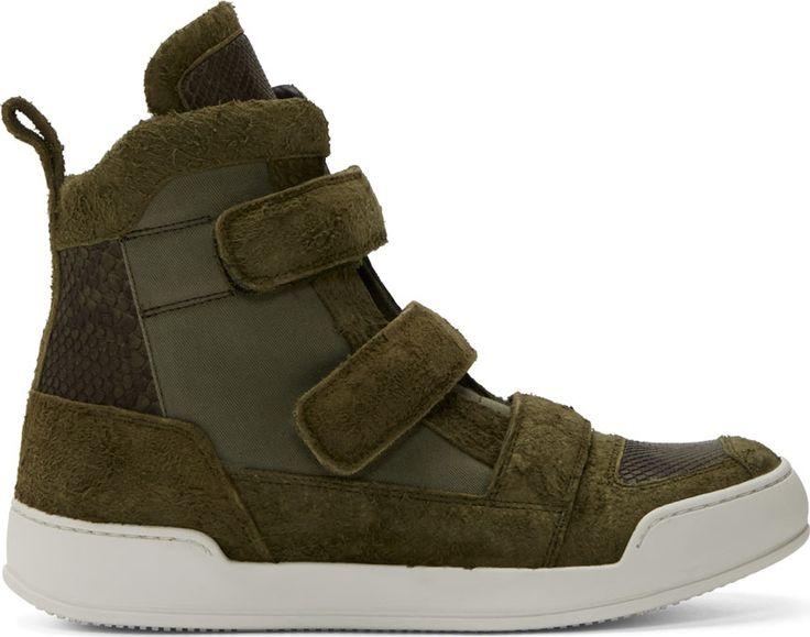 Balmain High Top Sneakers for Men
