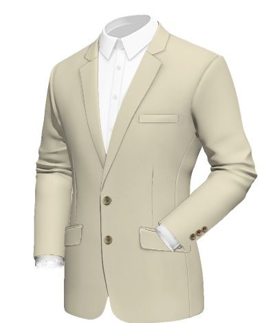 Bayamo:  classic jacket design with notch lapels and white lining. Fabric selected: Safari  http://www.tailor4less.com/en/collections/custom-jackets/breeze/bayamo