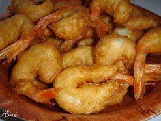 Beignets de crevettes à l'actifry, recette Beignets de crevettes à l'actifry à tester et à imprimer dans votre livre de recettes de cuisine personnalisé