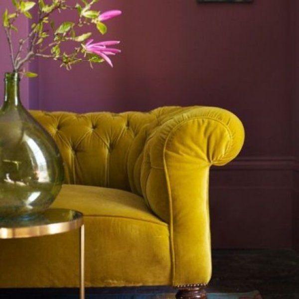 Velvet Feelings. 10 ideas for velvet decoration of your house. the re-el secret
