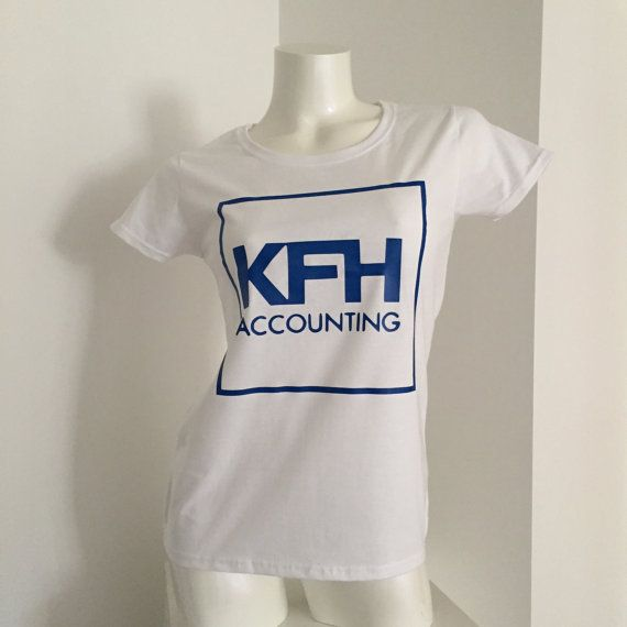 Custom T Shirt  Personalise with your logo by weheartcards on Etsy