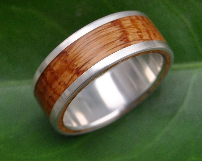 rose gold wood ring solsticio oro nacascolo 14k rose gold pink gold wood wedding band wood wedding ring wood ring with rose gold - Wooden Wedding Rings For Men