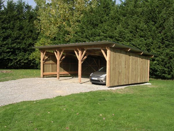 8 best Garage images on Pinterest Car ports, Pergolas and Car - isolation phonique maison mitoyenne