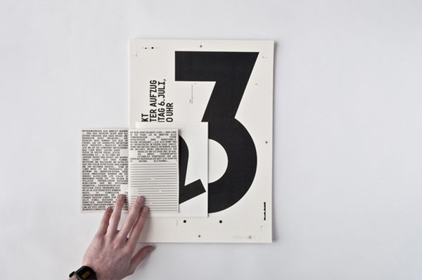 inspiration design and photography: book binding/ number 2 and 3 | typography / graphic design @ visual journal |