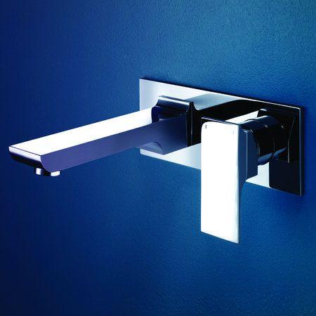 Dorf Jovian Wall Mount Basin Mixer available at Bathrooms Online