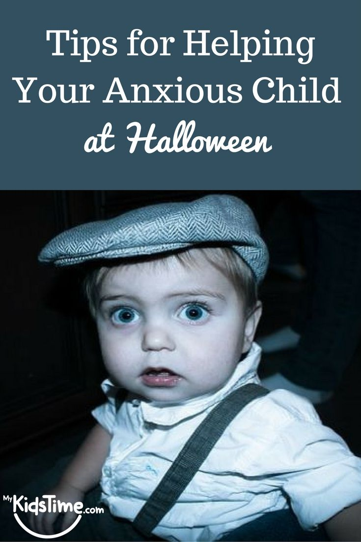 Helping your sensitive child at Halloween