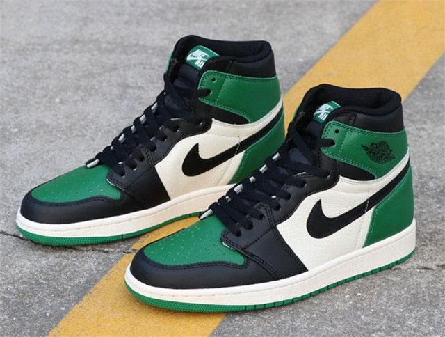 Top Air Jordan 1 Pine Green - 555088-302 BF  1c7aa5850