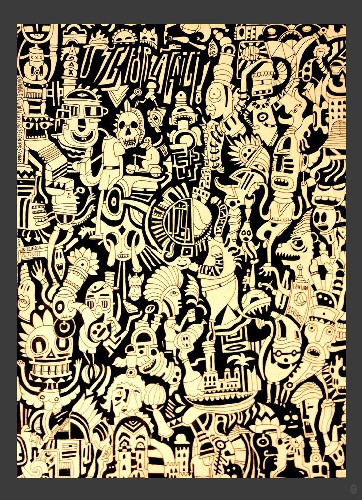 Ink Moleskine  42 x 29,7 cm