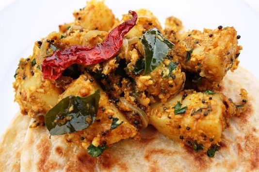 Mangalorean potato bhaji recipe