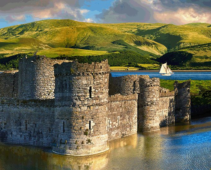 Beaumaris Castle  Anglesey  Wales  Credit  Funkyfood Paul Williams Alamy