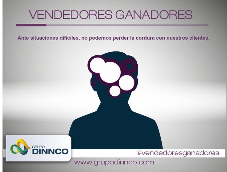 Vendedores Ganadores: Ante situaciones difíciles, no podemos perder la cordura con nuestros clientes. #vendedoresganadores