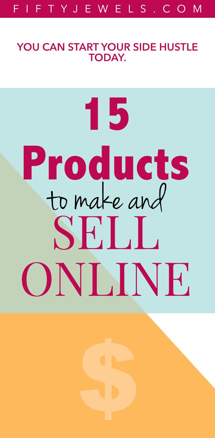 522 best fifty jewels blog images on pinterest dream big for What can i make to sell online