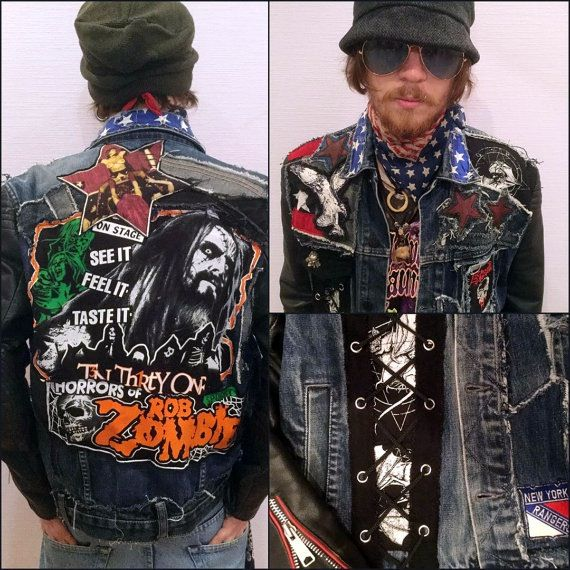 Image of Rob Zombie americana jacket