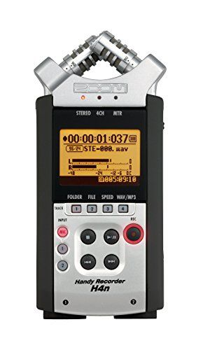 Zoom H4n Digital Multitrack Recorder - 2015 Version, 2015 Amazon Top Rated Multitrack Recorders #MusicalInstruments