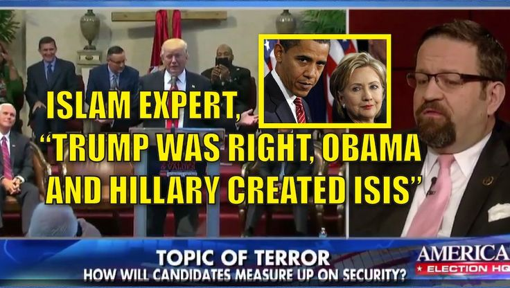 """Islamic expert Sebastian Gorka says that Trump is right. Much of what is ISIS today was created because of Obama and Hillary. Trump is a proven WINNER, while Hillary has a track record of death and destruction. Watch the video: .@SebGorka: """"""""ISIS is in large part a result of policies that the Obama Admin. brought when [@HillaryClinton] was secretary of state."""" pic.twitter.com/sL91Tzo3LZ — Fox News (@FoxNews) September 24, 2016 Amy Moreno is a Published Author , Pug Lover & Game of Thrones…"""