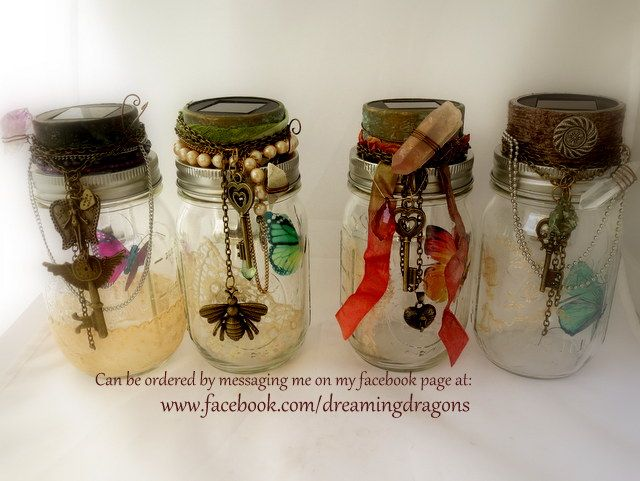 Decorated Mason Jars For Sale 10 Best Boho Mason Solar Lights For Sale Available At Wwwfacebook