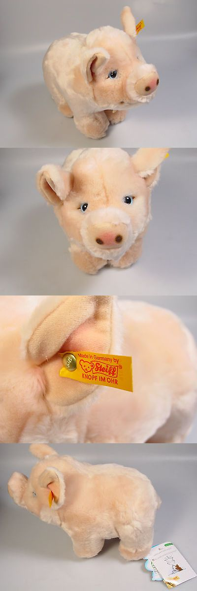 1970-Now 2602: Steiff Pig Bea Stuffed Plush Animal German Toy Cosy Friends -> BUY IT NOW ONLY: $36.01 on eBay!