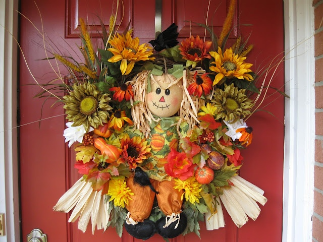 Adorable Scarecrow Wreath, Sitting in the Sunflowers Fall Wreath, $135: Sunflowers Scarecrows, Scarecrows Wreaths, Fall Wreaths, Scarecrows Fall, Adorable Scarecrows, Girls 8 Fall, Girls Wreaths, Wreaths Autumn, Sunflowers Fall