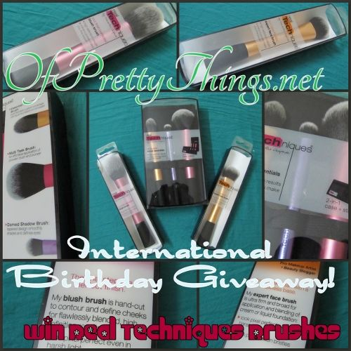 Giveaway!! Happy Birthday to me!! :D