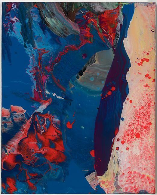 Gerhard Richter – Sindbad (905/1-49), detail, 2008,  30 x 50 cm