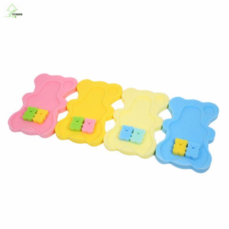 YI HONG Baby Infant Soft Bath Sponge Foam Anti-Slip Mat Support Safety Comfort
