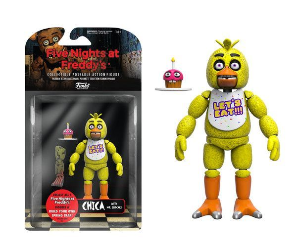#transformer ko five nights at freddy's fnaf: chica [action figure] by funko