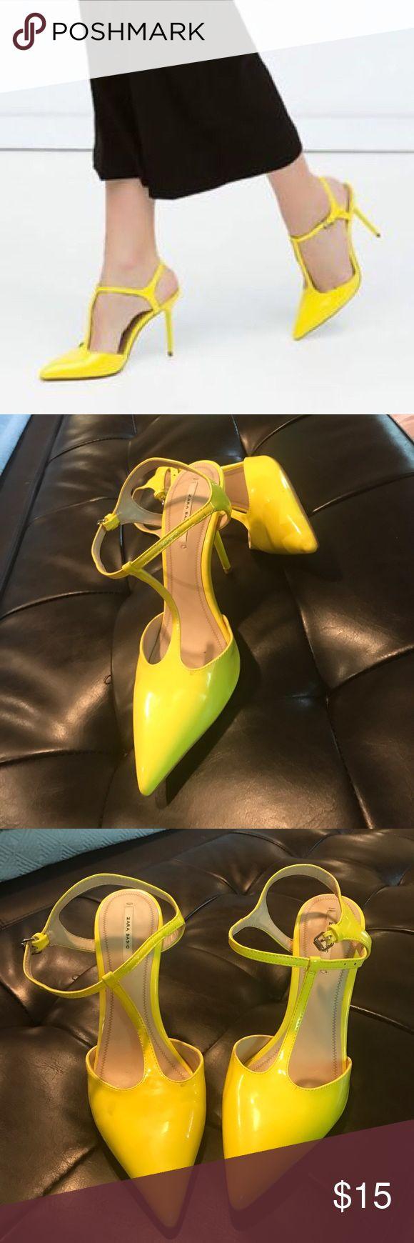 Super Cute! ❤ Zara T Strap Sandal Gently worn Zara Shoes Sandals