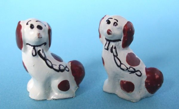 Pair of. Staffordshire Dogs. – Hazel Dowd