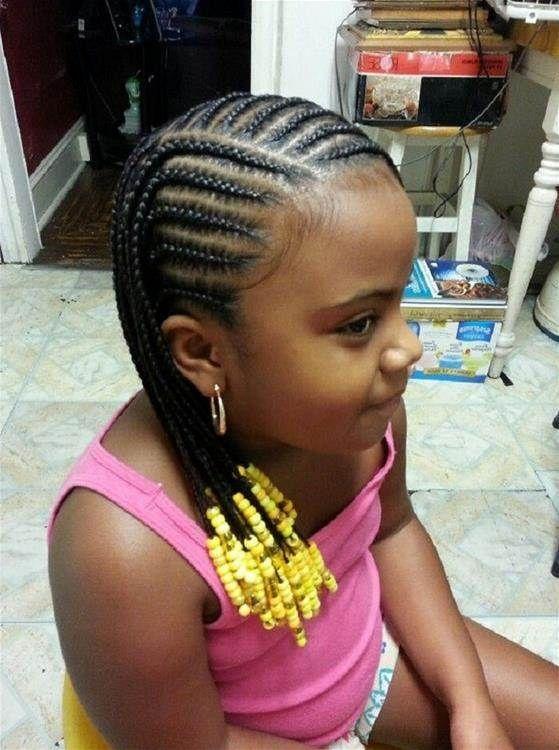 Astounding 1000 Images About Little Girl Hairstyles On Pinterest Cornrows Short Hairstyles For Black Women Fulllsitofus