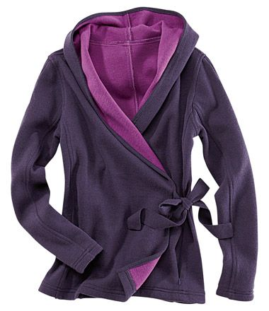 I so want this!!!  Wrap-It-Up Hooded Sweater - Sweaters & Fleece - Tops, Sweaters, & Jackets - Categories - Title Nine