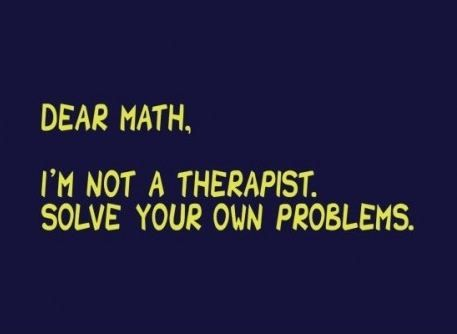 Dear Maths
