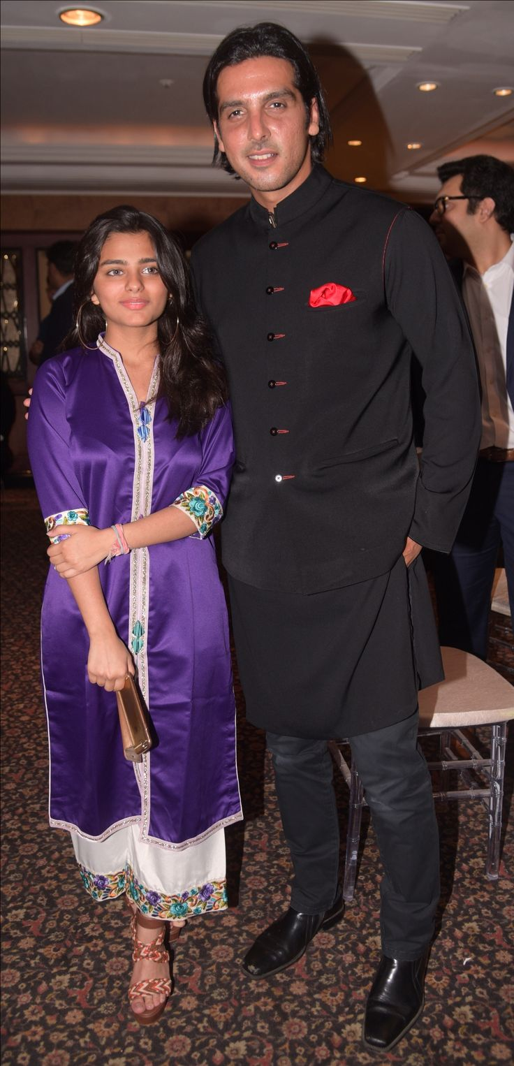 Zayed Khan and Saher Bhamla at the 20th anniversary celebrations of Bhamla Foundation