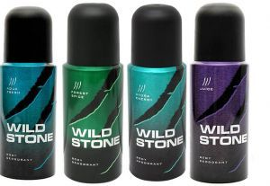 Set of 4 Wild Stone Men Deodorant At Rs 399 Only From Rediff