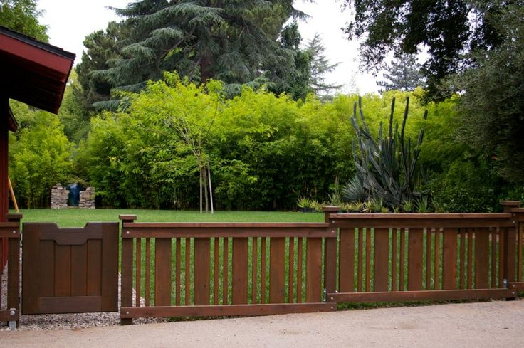 Bungalow arts and crafts pinterest ideas for Short fence ideas