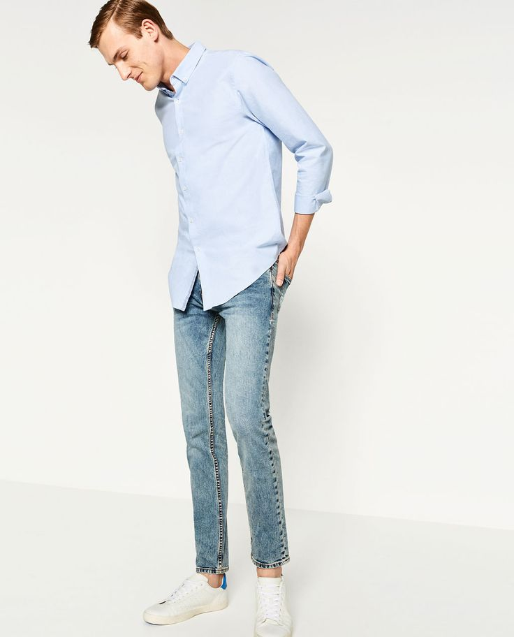 Image 1 of SLIM FIT JEANS from Zara