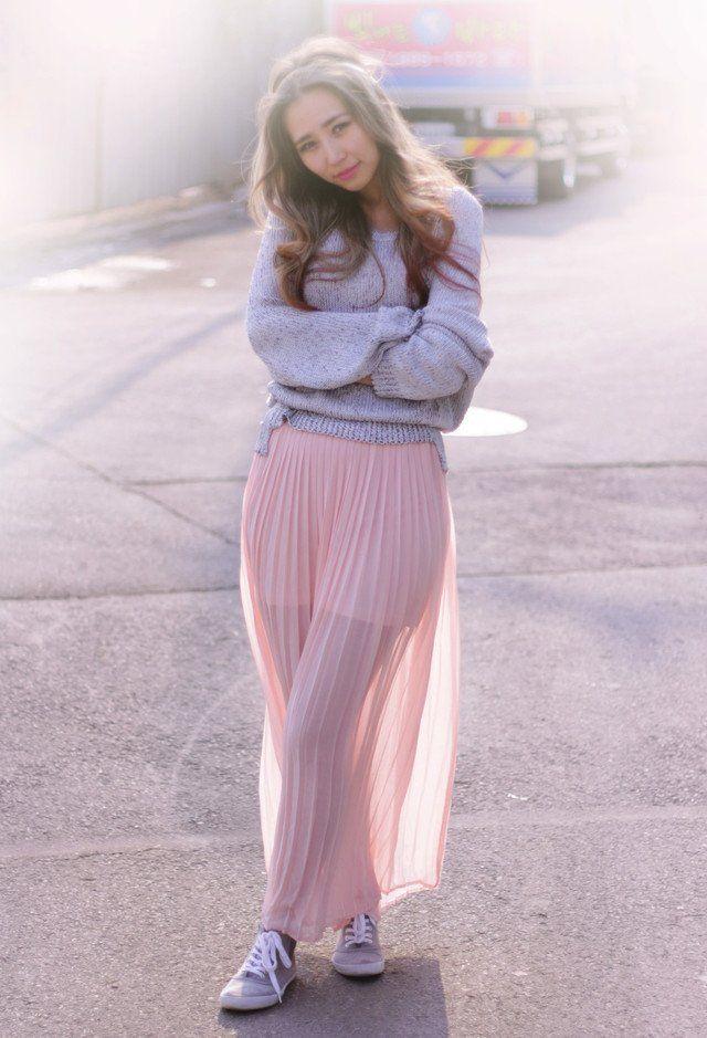 pink skirt 2.