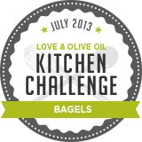 This month Kitchen Challenge, organized by Lindsay of Love & Olive Oil, tackled the yeasty creation of bagels! This challenge wasn't too daunting for me because I have made a few different kinds of bagels in the past, but I was excited to try out something new. After my happy experience with Greek yogurt in pizza dough I thought to myself, why stop there? So I made Greek yogurt bagels complete with an everything bagel topping. Just like the pizza dough I was incredibly pleased with the…
