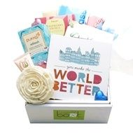 "Gift Hampers Australia, Australia Gifts, Melbourne Hampers, Gift Baskets Perth, Gifts Adelaide, Gift Baskets Sydney - ""You Make The World Better"" Gift Box - Get Well Gift Hampers - WOMEN - Get Well Gifts - Product Catalogue"