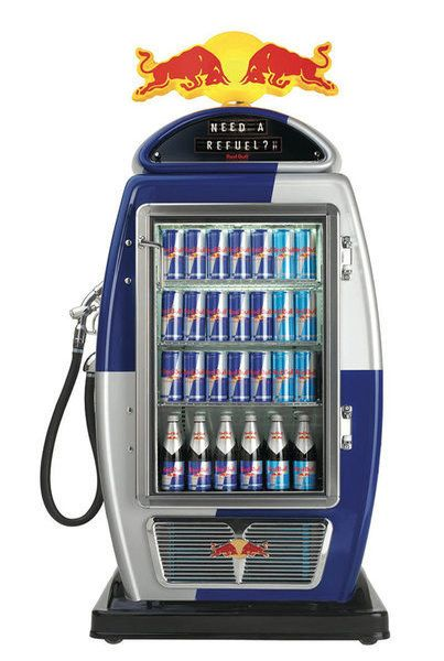 Refuelling with Red Bull | Community Post: 13 Brilliantly Clever Point Of Sale Displays