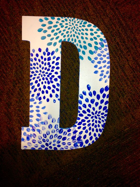 Large Custom Hand Painted Greek Letters by rskelton on Etsy