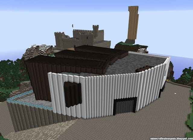 ¡MINECRAFTEATE!: Réplica Minecraft del Centro de Arte de la Caja de Burgos (CAB).