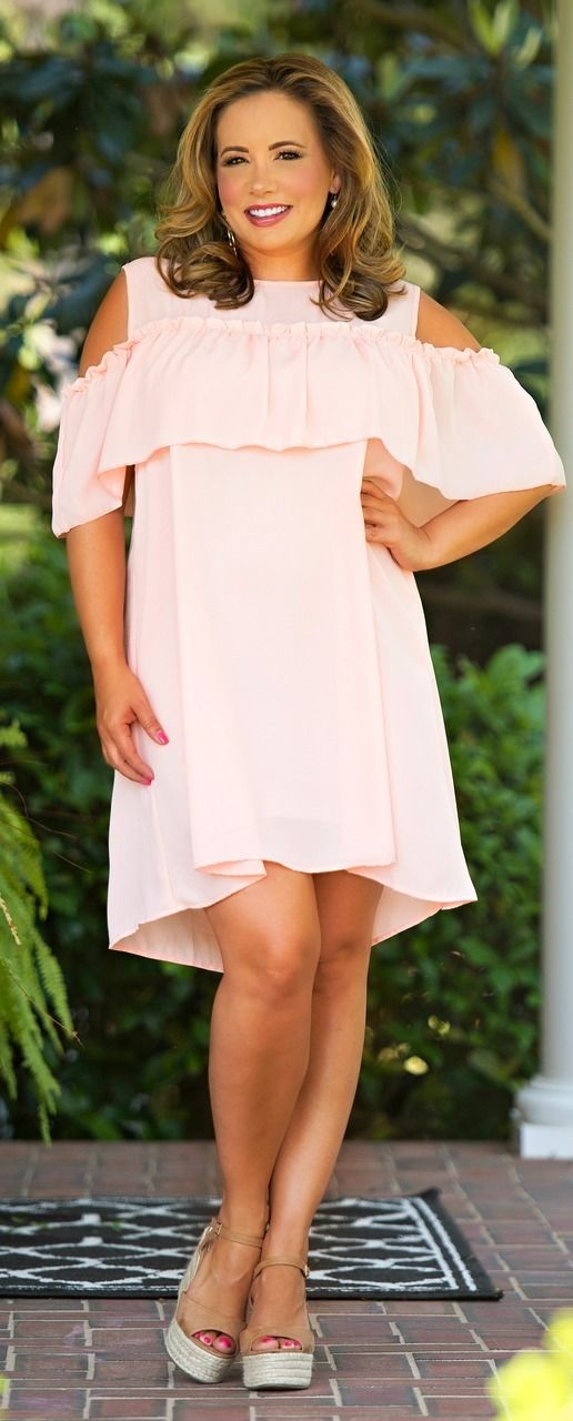 Sashay My Way Dress - Peach - Perfectly Priscilla Boutique