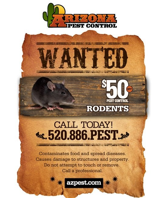 Save $$$ on Arizona Pest Control Services