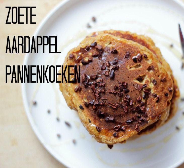Zoete Aardappel Pannenkoeken | De Bakparade