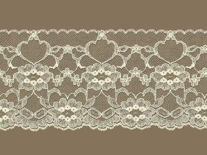 Ivory Edge Lace Trim - 4''  $1.56
