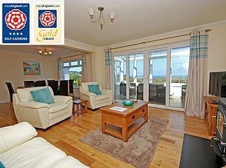 Spectacular Sea Views, Sleeps Nine In Four Bedrooms, With Garden And Large, Elevated Decking AreaHoliday Rental in Carbis Bay from @HomeAwayUK #holiday #rental #travel #homeaway
