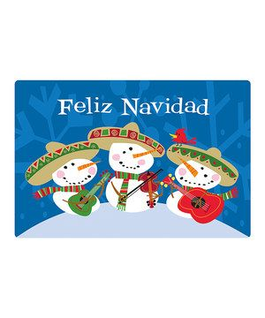 Another great find on #zulily! 'Feliz Navidad' Comfort Cushion Mat by Mohawk Home #zulilyfinds