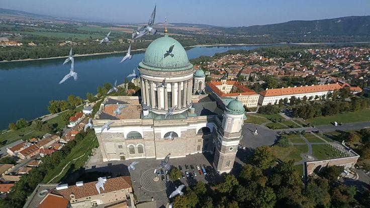 Check out this amazing photo on SkyPixel: Esztergom Basilica, Hungary
